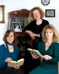 Der Abend wird gestaltet von Clara Wahl, Sieglinde Schneider und Katia Franke (v.l.) Bild: Schneider/LVR-FMK