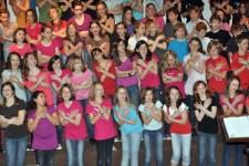 Schülerinnen und Schüler des Clara-Fey-Gymnasiums laden zum Frühlingskonzert ein. Bild: Jürgen Drewes