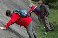 Beim Tag des Geotops wird die spannende Geschichte der Gesteine im Nationalpark Eifel erläutert. Bild: Nationalparkverwaltung