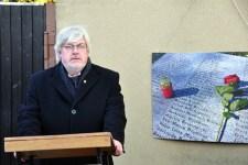 Der aus Hausweiler strammende Autor Heinz A. Höver liest in Gemünd. Bild: Eifeler Bündnis gegen Rechts