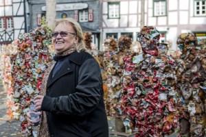 """HA Schult wird einen Aktionsvortrag über die """"Wahrheit des Mülls"""" halten. Bild: Yvonne Kirch/studio B23"""