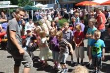 Für die kleinen Besucher wird Kinderliedermacher Uwe Reetz erwartet. Bild: Hilfsgruppe Eifel