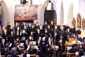 Der Kammerchor Schleiden lädt zum Konzert in die Schlosskirche. Bild: Privat