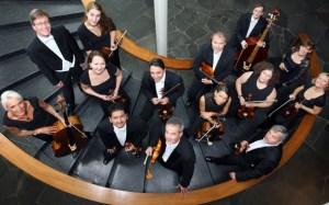 Das Südwestdeutsches Kammerorchester Pforzheim unter der Leitung von Georg Mais gastiert auch in Steinfeld. Bild: Sebastian Seibel