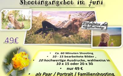 Shooting Angebot im Juni – Paar | Portrait | Familienshooting nur 49€ statt 99€