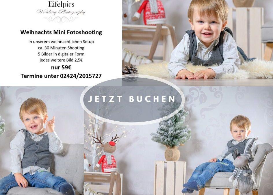 Weihnachts Fotoshooting 2019 für Kleine und Große