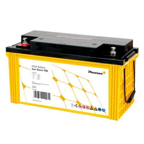 Batterie Sun Store 100