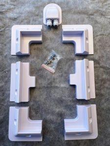Modulbefestigungskit eifel-Solar Komplettset