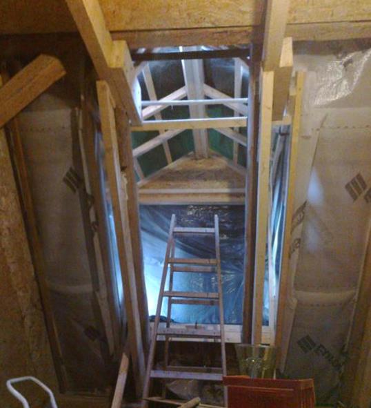 Gaube Im Satteldach Alternative Zum Dachfenster Eigenkonstrukt De