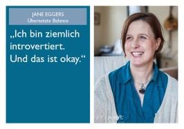 Jane Eggers - Übersetzte Balance