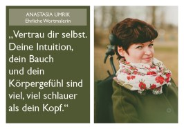 Anastasia Umrik - Ehrliche Wortmalerin