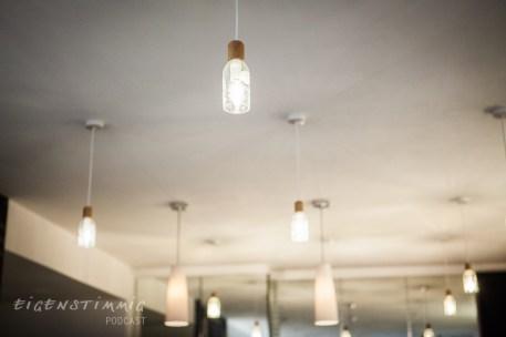 Lampen selbstgemacht au Flaschen