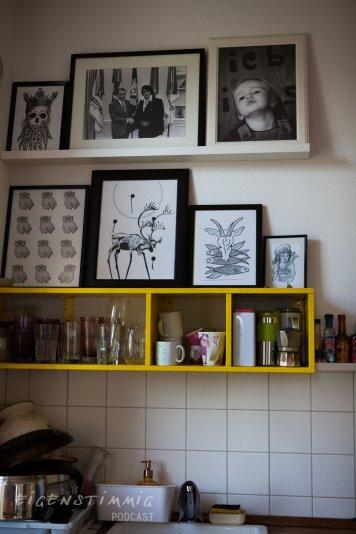 Kunst in Lindas Küche