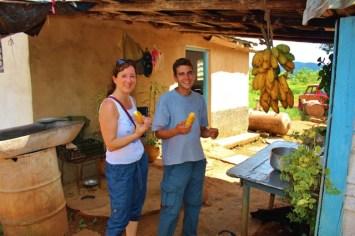 Einkehr bei einer Bauernfamilie in Vinales (Cuba) Foto: Urlaubsengel