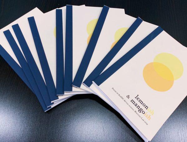 Several copies of 826DC chapbook Lemonish & Mangoish