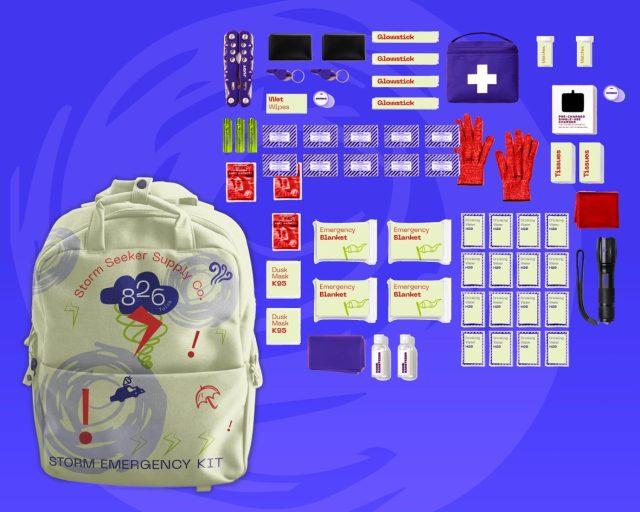 """Storm Emergency Kit"""
