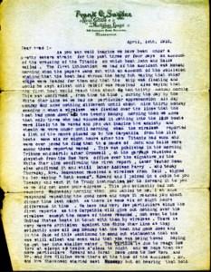 Snyder Family Letter