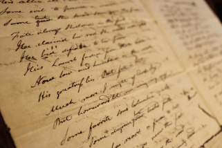 Mark Hardin's Handwriting