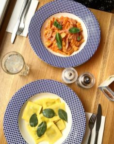 A meal at Carluccio's