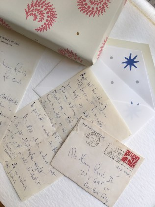 Letters from First Lady Jackie Kennedy