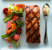 salmon with spoon - 2