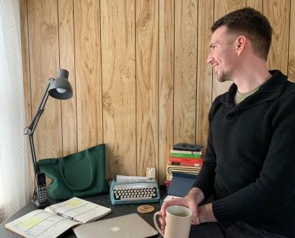 Brett at Desk