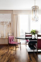 The dining room from our Fifth Avenue Project