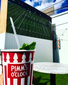 Rooftop Pimm's Cups