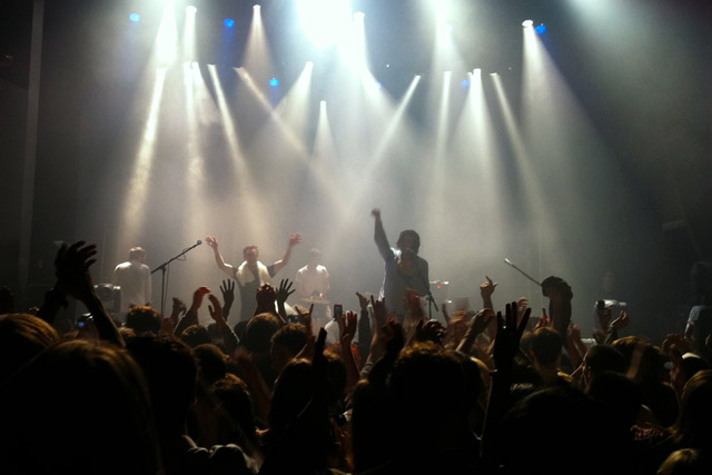 Two Door Cinema Club and Tokyo Police Club in concert