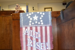 "After every graduation, Judge Elliot says, ""When one rises, we all rise."""