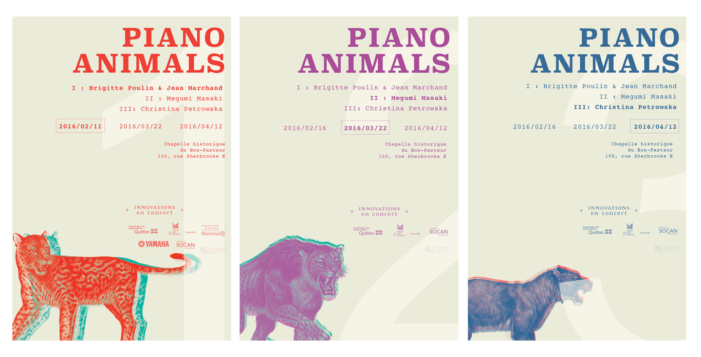 Piano Animals - First Draft