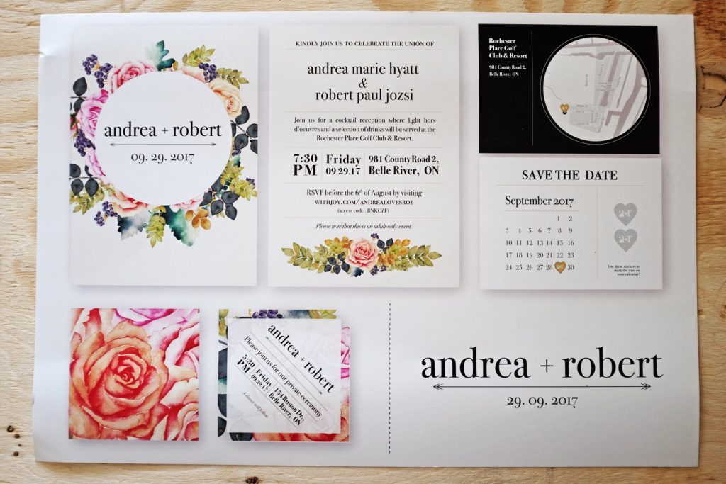 AndreaRob Invitations