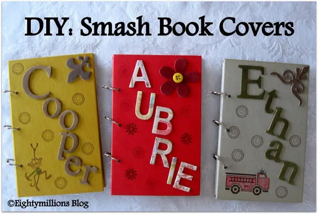 DIY: Smash Book Covers (Update-Completion)