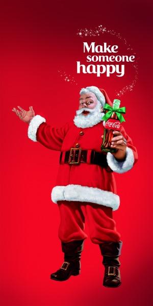 Make Someone Happy with Coca Cola this holiday season!