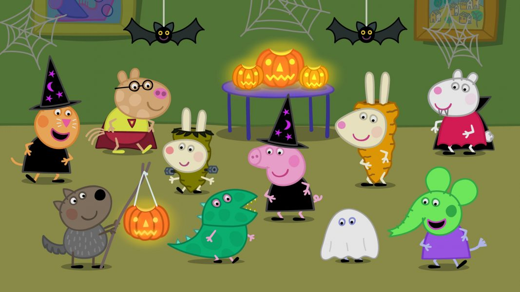 Halloween Pumpkin Party Fun With Peppa Pig Eighty MPH