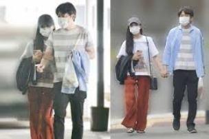 小島瑠璃子と原泰久熱愛デートの写真