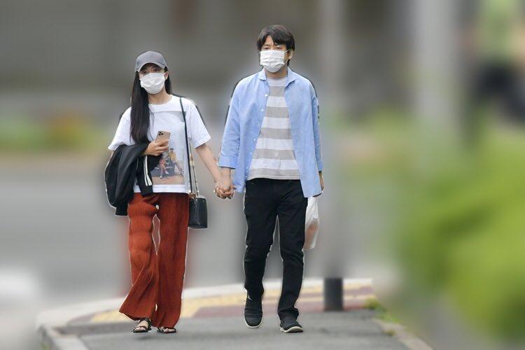 小島瑠璃子と原泰久の熱愛デート写真