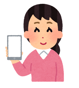smartphone blank woman - 【2020年版】おすすめ学習記録ツール Studyplus