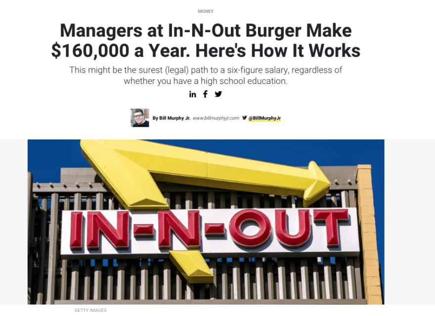 26ed954ab61d8a47b023fc89899821bd - In-N-Out Burger 裏メニューを注文してみた