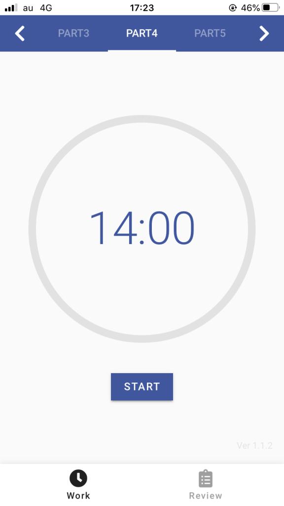 IMG 2721 576x1024 - 【2020年版】時間不足を解決する!おすすめオリジナルアプリ TOEIC TIMER