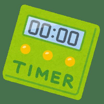 kitchen timer - 【2020年版】時間不足を解決する!おすすめオリジナルアプリ TOEIC TIMER