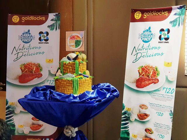 Goldilocks Sarap Pinggang Pinoy Promotes Healthy Eating