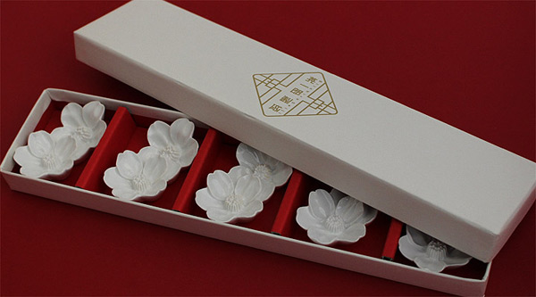 英一郎 箸置き 桜の花 5個セット