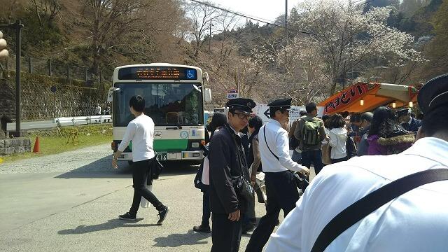 近鉄吉野駅 中千本公園行きバス