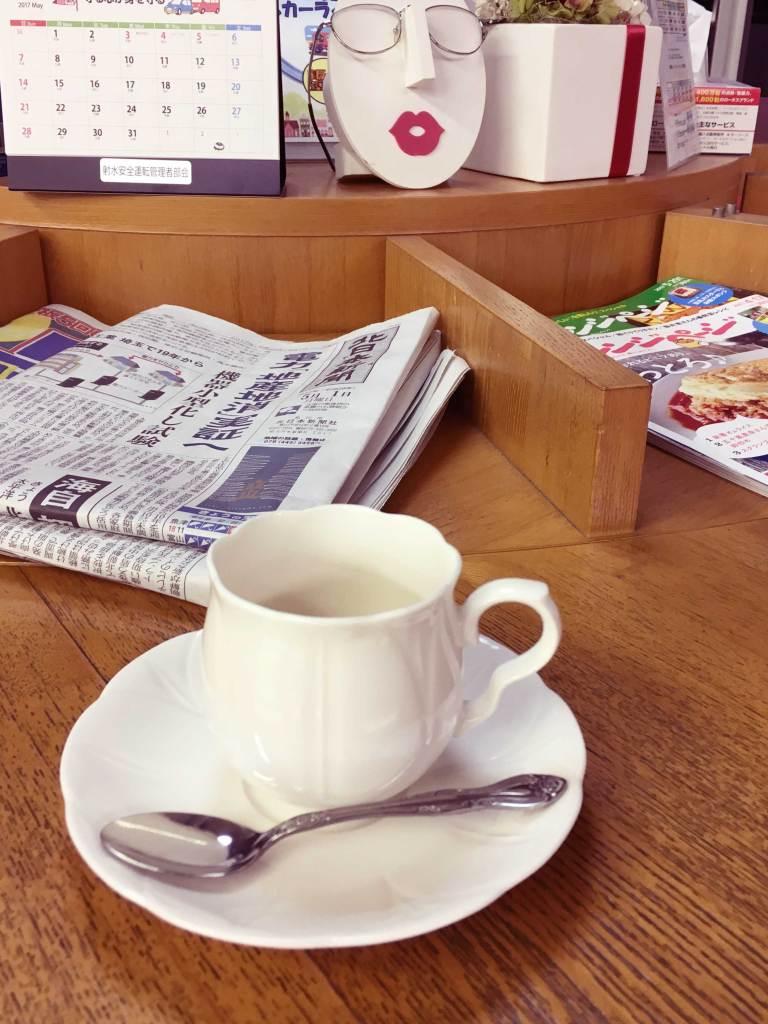 コーヒーで一服