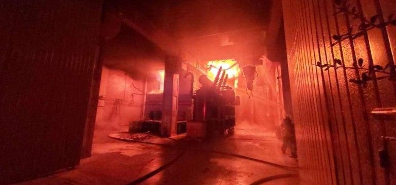 incendian los generadores eikon 3p