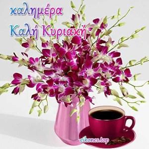 Καλημέρα…Όμορφη και χαρούμενη Κυριακή  για όλους