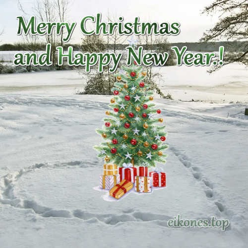 Merry Christmas And A Happy New Year.!