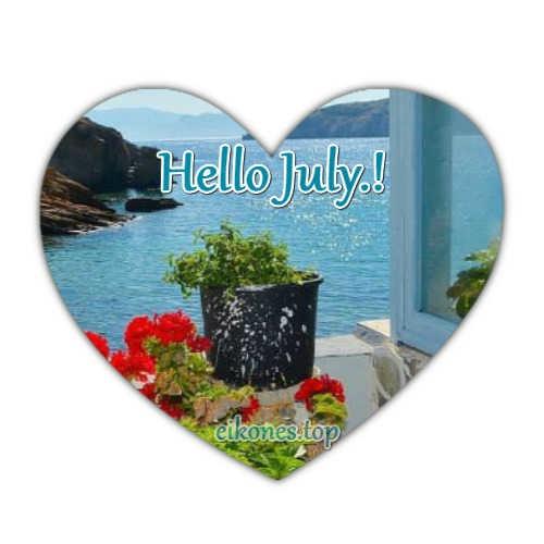 Εικόνες για Hello July και Welcome July.!