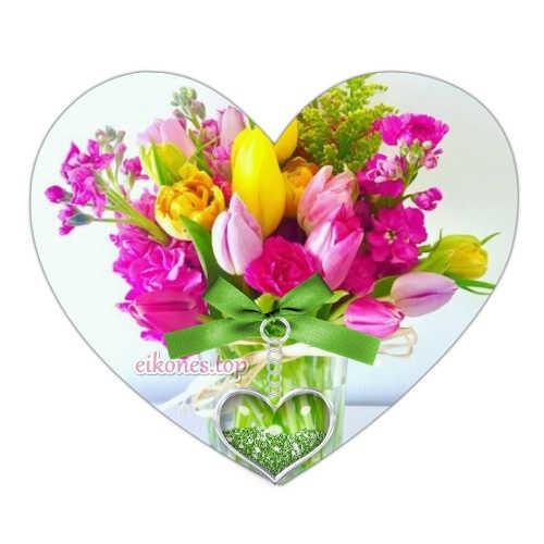Μια μεγάλη συλλογή από καρδιές με λουλούδια!